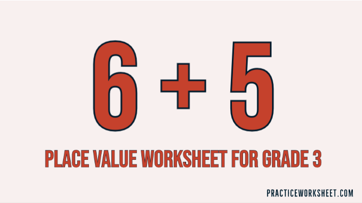 place value worksheets grade 3