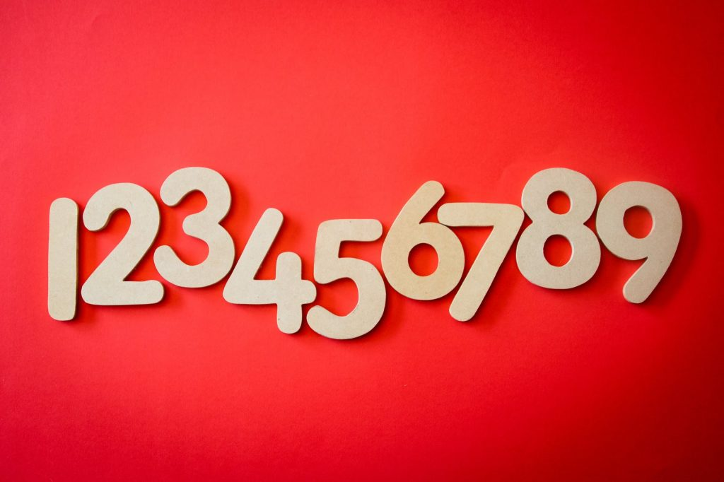 Numbers for grade 1